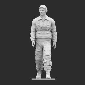 Paracadutista Regia Aeronautica Camminata STL
