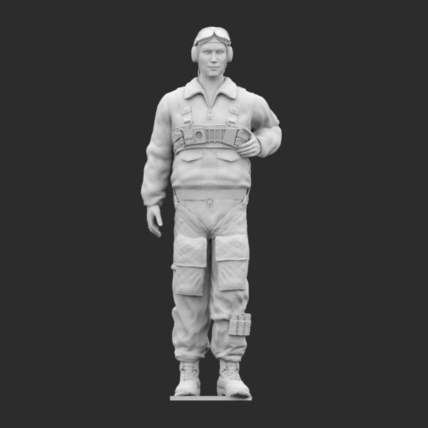 Paracadutista Regia Aeronautica STL