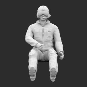 Pilota Elicottero AMI Seduto